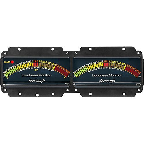 Dorrough 12-C Analog Loudness Meter +20dB