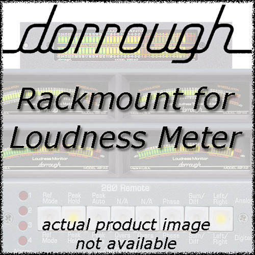 Dorrough Rack Mount for Dorrough 20 Series Meter