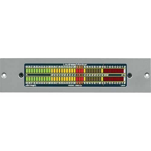 Dorrough Digital Loudness Meter-39dB 32-96k -18 Refrn