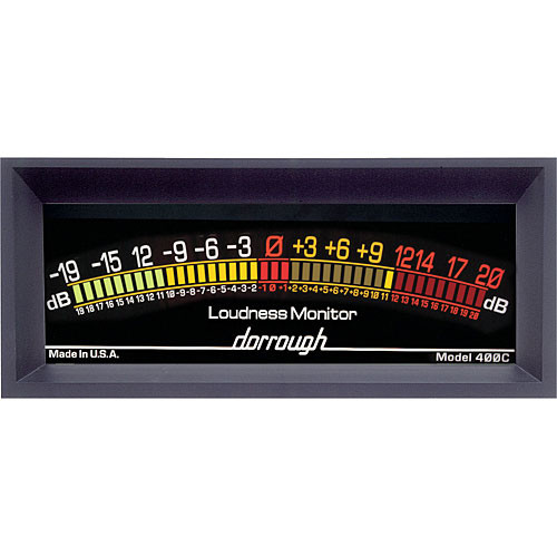 Dorrough Jumbo Analog Loudness Meter +20dB