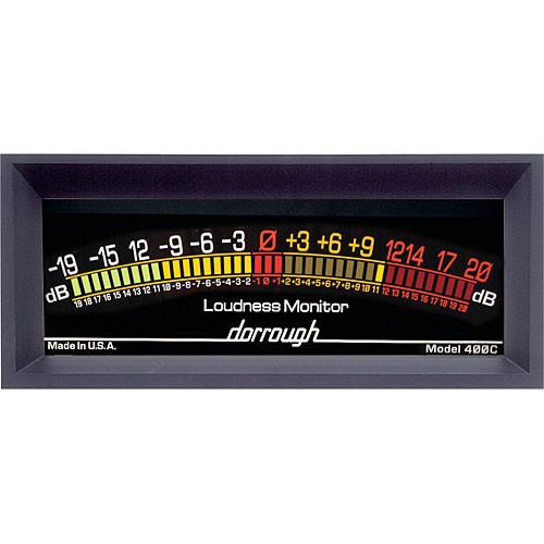Dorrough Jumbo Analog Loudness Meter +20dB