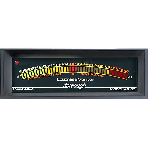Dorrough 40-CE Analog Loudness Meter + 37dB