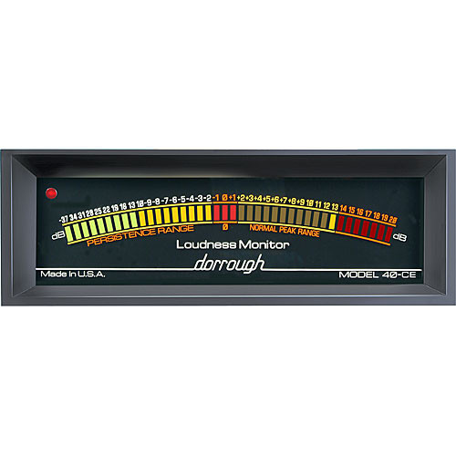 Dorrough Analog Loudness Meter + 37dB