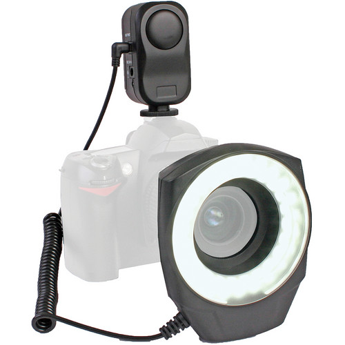 Dot Line 48 LED Ringlight with AC Adapter