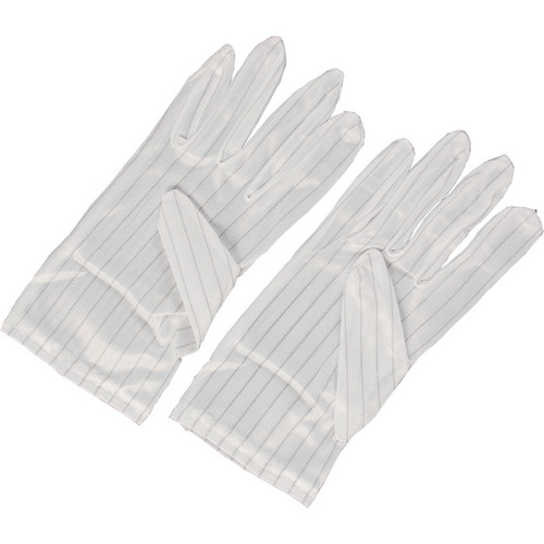 Dot Line Anti-Static Gloves (Large, Pair)