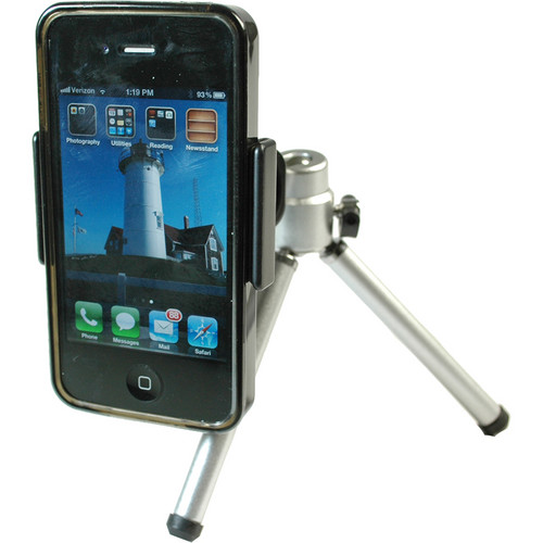 Dot Line Smartphone Clip With Mini Tripod