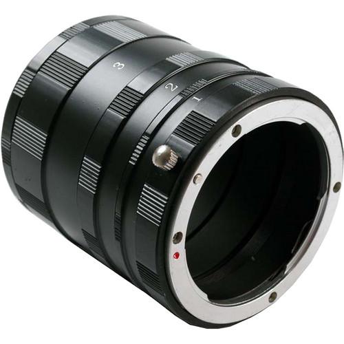 Dot Line Manual Extension Tube Set for Pentax K Cameras