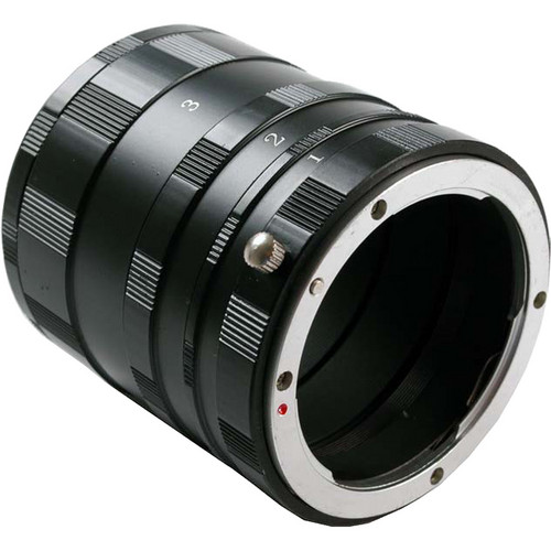 Dot Line Manual Extension Tube Set for Pentax K Cameras