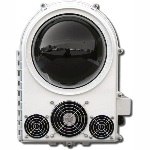 Dotworkz COOLDOME 24 VDC Active Cooling Camera Enclosure with Clear Lens
