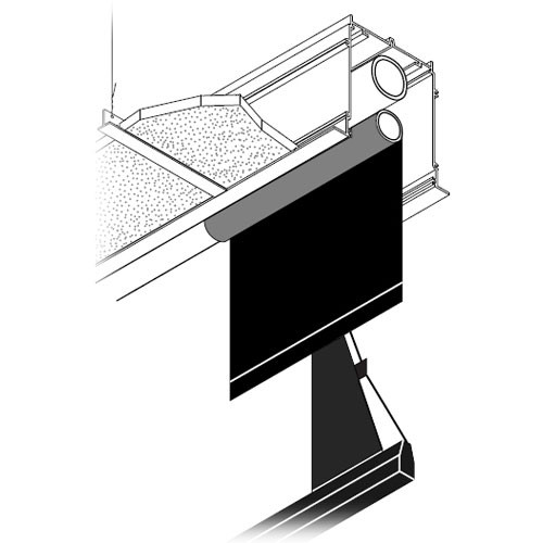 """Draper 106085 Access Multiview/Series E Motorized Masking Projection Screen System (45 x 105.75"""" )"""
