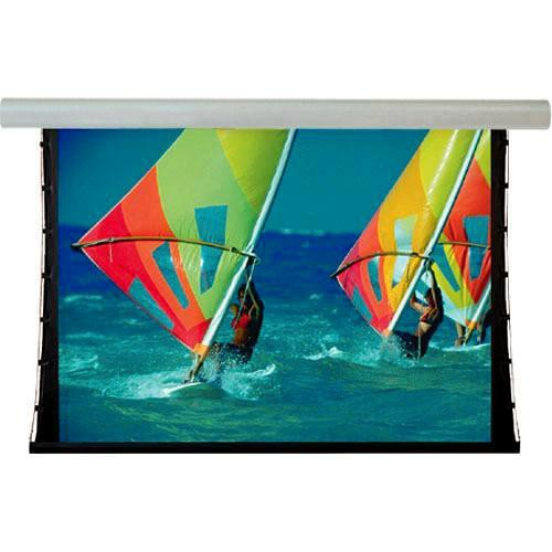 "Draper 107323Q Silhouette/Series V 36 x 64"" Motorized Screen with Quiet Motor (120V)"