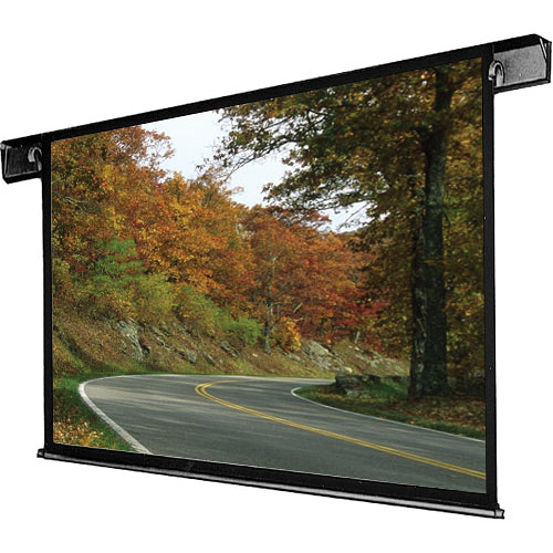 "Draper 112002QL Envoy 60 x 60"" Ceiling-Recessed Motorized Screen with Low Voltage Controller and Quiet Motor (120V)"