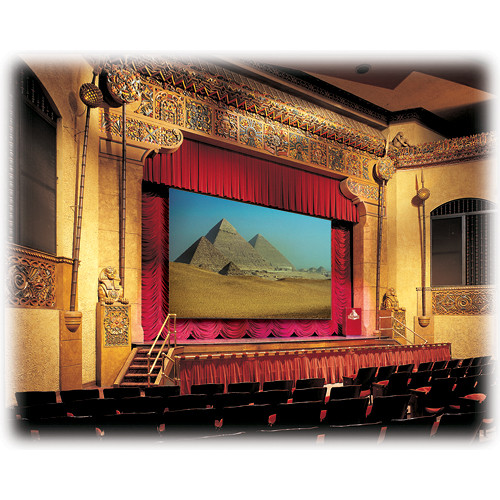 "Draper 114230 Paragon/Series E Motorized Projection Screen (177 x 284"")"