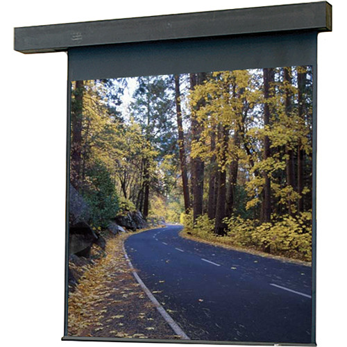 "Draper Rolleramic Motorized Projection Screen - 60 x 80"" - Matte White"