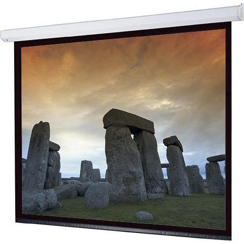 "Draper 116367L Targa Motorized Front Projection Screen (50x80"")"