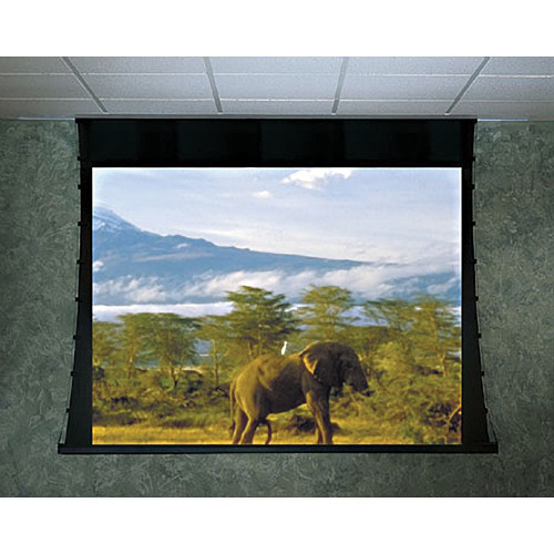 "Draper 118210Q Ultimate Access/Series V Motorized Front Projection Screen (96 x 96"")"