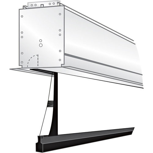 "Draper 118218Q Ultimate Access/Series V Motorized Projection Screen (78 x 104"")"