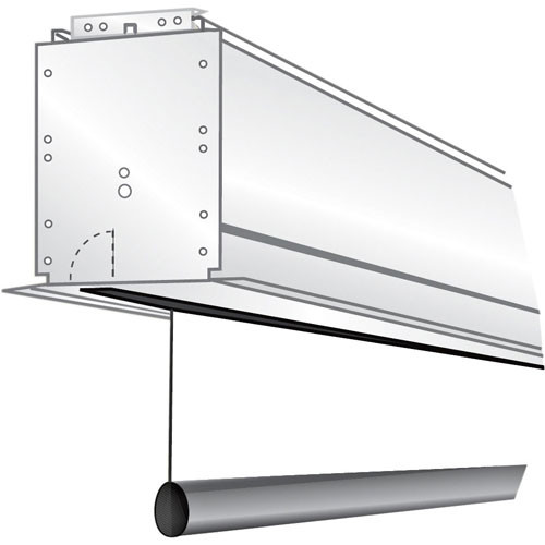 "Draper 119023Q Ultimate Access/Series E 79 x 140"" Motorized Screen with LVC-IV Low Voltage Controller Quiet Motor (120V)"