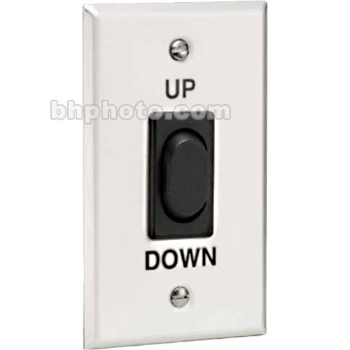 Draper Replacement Single Station Wall Switch - 110-120V