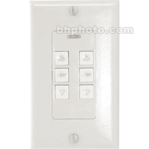 Draper Single Gang Wall Switch & White Cover Plate