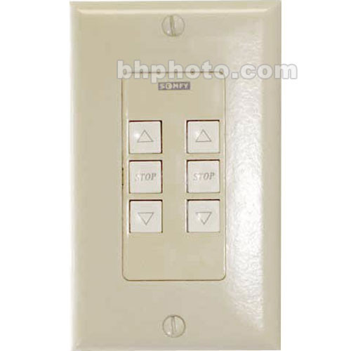 Draper Single Gang Wall Switch & Ivory Cover Plate
