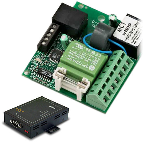 Draper MC1 Motor Control Board for Serial Splitter, Model 121099