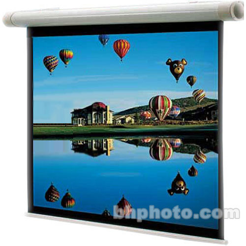 "Draper 132081 Salara Electric Front Projection Screen (72 x 96"")"