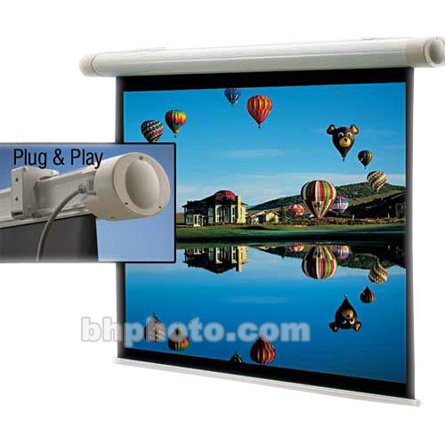 "Draper 136123 Salara Plug & Play Front Projection Screen (84 x 84"")"