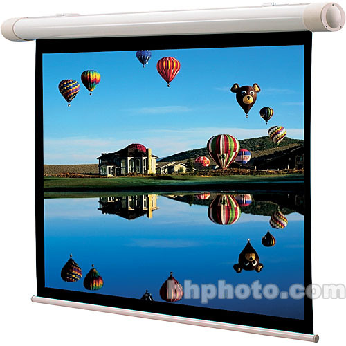 "Draper 137049 Salara/M Manual Front Projection Screen  (31.75 x 56.5"")"