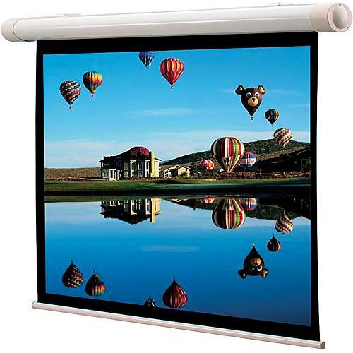 "Draper 137086 Salara/M Manual Front Projection Screen Auto Return (84x84"")"