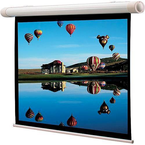"Draper 137095 Salara/M Manual Front Projection Screen With Auto Return (72 x 96"")"