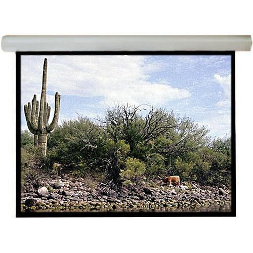 """Draper Silhouette/Series M Manual Front Projection Screen with AutoReturn (84x84"""")"""