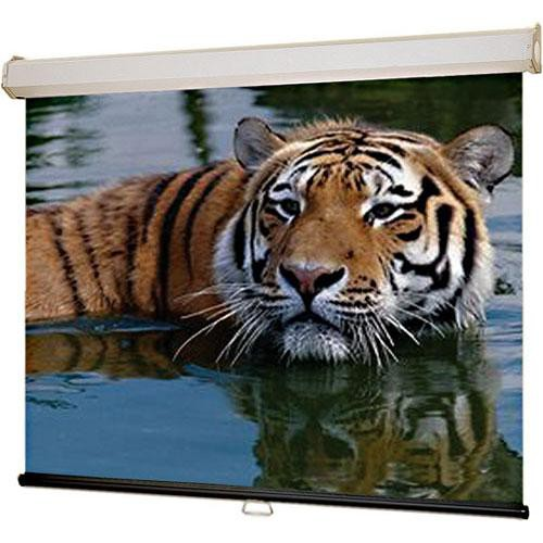 "Draper 206112 Luma 2 Manual Front Projection Screen with AutoReturn (65 x 116"")"