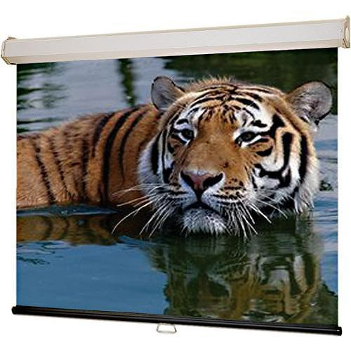 "Draper 206156 Luma 2 Manual Front Projection Screen with AutoReturn (63x116"")"