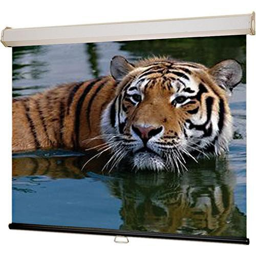 "Draper 206188 Luma 2 Manual Front Projection Screen (62x104"")"