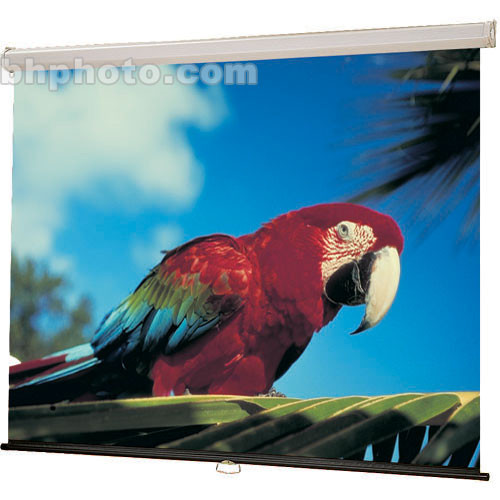 "Draper Luma Manual Projection Screen - 70 x 70"" - Matte White"