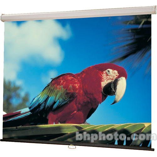 "Draper 207046 Luma Manual Front Projection Screen (70 x 70"" )"
