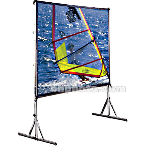 Draper 218043 Cinefold Portable Projection Screen with Standard Legs (9 x 9')