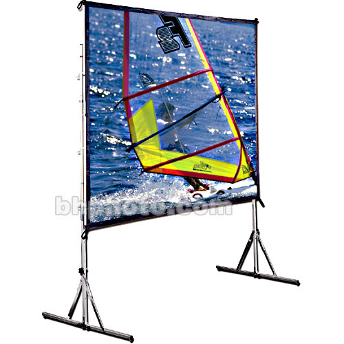 "Draper 218047 Cinefold Portable Projection Screen with Standard Legs (50 x 70"")"