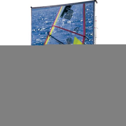 "Draper 218054LG Cinefold Portable Projection Screen with Standard Legs (5 x 7'6"")"