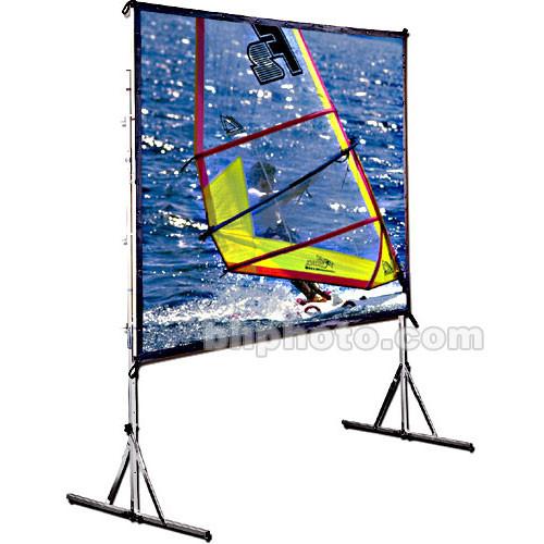 "Draper Cinefold Folding Portable Screen w/ HD Legs - 68 x 92"" - Matte White"