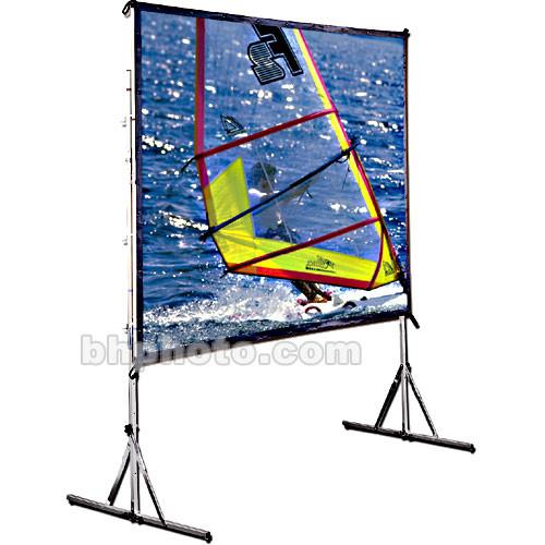 "Draper Cinefold Folding Portable Front Projection Screen with Standard Legs - 58 x 104"" - 119"" Diagonal - HDTV Format (16:9 Aspect) - Matte White"