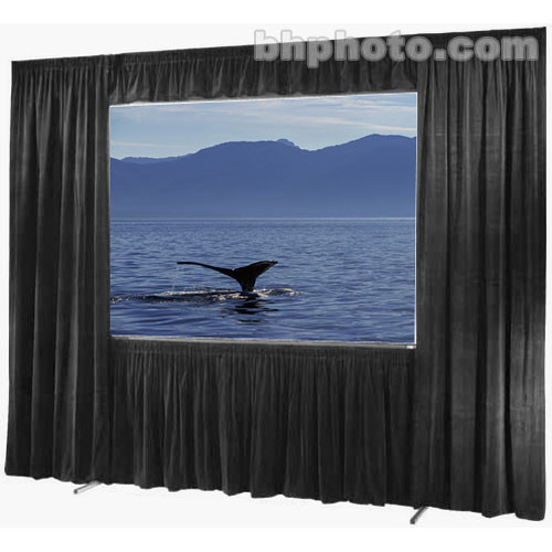 "Draper Drapes for the 140 x 188"" Ultimate Folding Screen"