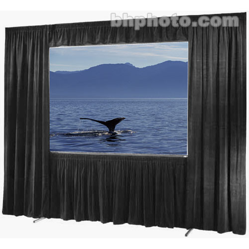 "Draper Drapes for the 108 x 192"" Ultimate Folding Screen"
