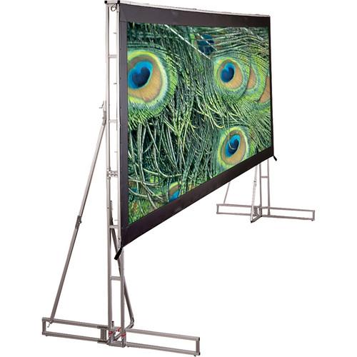 Draper 221023LG Truss-Style Cinefold Manual Projection Screen (9' x 9')