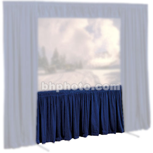Draper Skirt for Cinefold Truss Projection Screen - 10 x 10'
