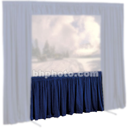 Draper Skirt for Cinefold Truss Projection Screen - 10 x 18'