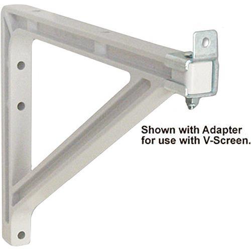 "Draper 227223  Wall Bracket Extension (10-14"", White)"