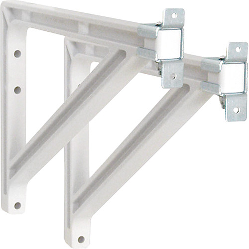 "Draper 227226  Wall Bracket Extension (10-14"", White)"