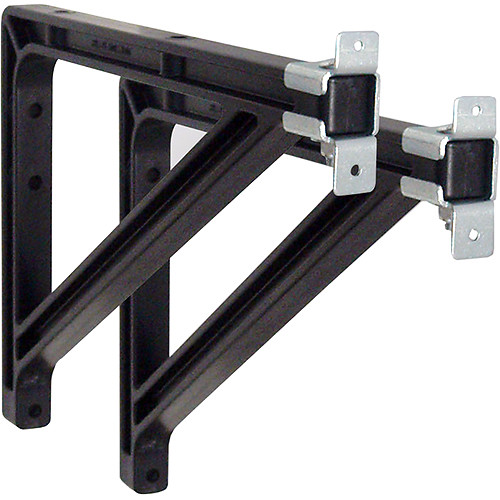 "Draper 227228  Wall Bracket Extension (10-14"", Black)"